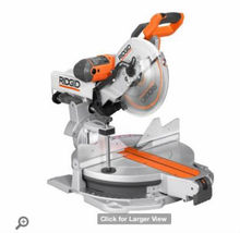 Ridgid 12 in. Sliding Compound Miter Saw with Adjustable Laser, MS1290LZA
