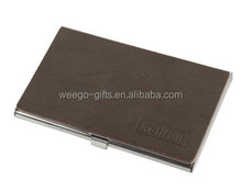 bulk leather cover business card holders, personalized name case