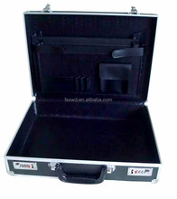 Carrying case aluminum briefcase hard case with compartment XWD-BF052