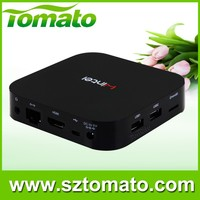 Wintel tv box winds 8.1 and android 4.2 double system mini pc 2G+32G Bluetooth 4.0 Wintel set top box with factory price