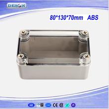 Various Waterproof Junction Enclosure, Transparent Junction Enclosure, Electric Junction Enclosure Box 80*130*70mm