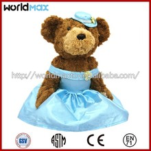 High quality Teddy bear stuffed plush toy TD1201-2