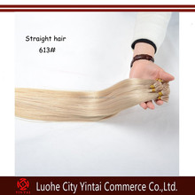 Wholesale price brazilian remy human italian keratin tip hair extensions made in china