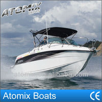 6m Fiberglass Sports boat with outboard engine (600 Sports Cuddy)