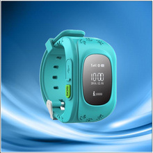 Hot selling high accuracy Screen GPS Watch Supports GSM and GPRS for Kid keychain gps lo or