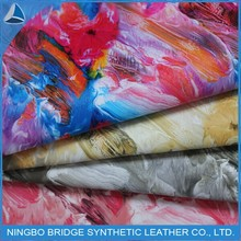 2015 New design pu leather,synthetic leather raw material for shoe making