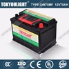 Professional China Manufacture 12V 75Ah Auto Start Battery DIN75MF