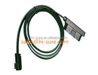 auto connector 16pin obd2 to mini usb 12 cable for universal car diagnostic equipment