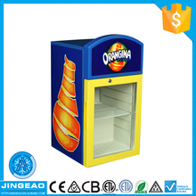 Hot selling made in zhejiang super quality oem counter top display fridge