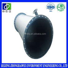 Steel industry & FGD acid proofing environmental rubber lined pipes
