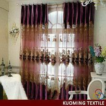 Modern hot-sale different styles of ready made curtain