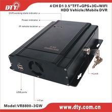 Transport CCTV Solution/Vehicle CCTV Car DVR/Mobile Vehicle Video & Audio Recorder