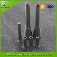 YG6/YG6X high wear resistance cemented tungsten carbide sandblasting nozzle/insert for sandblast or sand blasting machine
