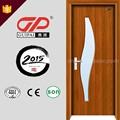 China de pvc mdf puerta de madera maciza, puertas de madera diseño