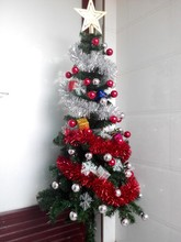 YIWU Caddy SDZS-005 Best selling artificial christmas tree , pvc/pe chirstmas decoration