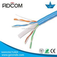 CAT6 FTP/UTP/SFTP Cable, UL list, pass FLUKE TEST