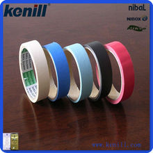 Temperature sensitive color kenill masking tape