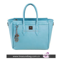 9cb57 2015 women genuine leather tote bag / leather lady hand bag