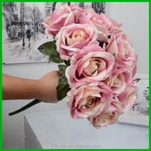 Excellent quality manufacture silk artificial flower decoration