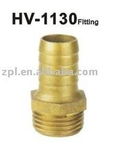 Brass hose nipple ,brass male nipple, pipe fitting
