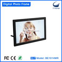 customized 10 inch 10.1 inch HD calendar clock alarm digital picture frame best digital photo frame BE1014MR