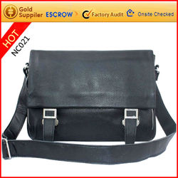 2012 final promotional high quality pu leather vintage style messenger bag