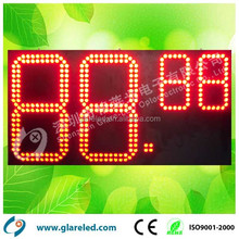 36inch red color factory supply Gas Price Digital Display with competitive price led Gas Signs