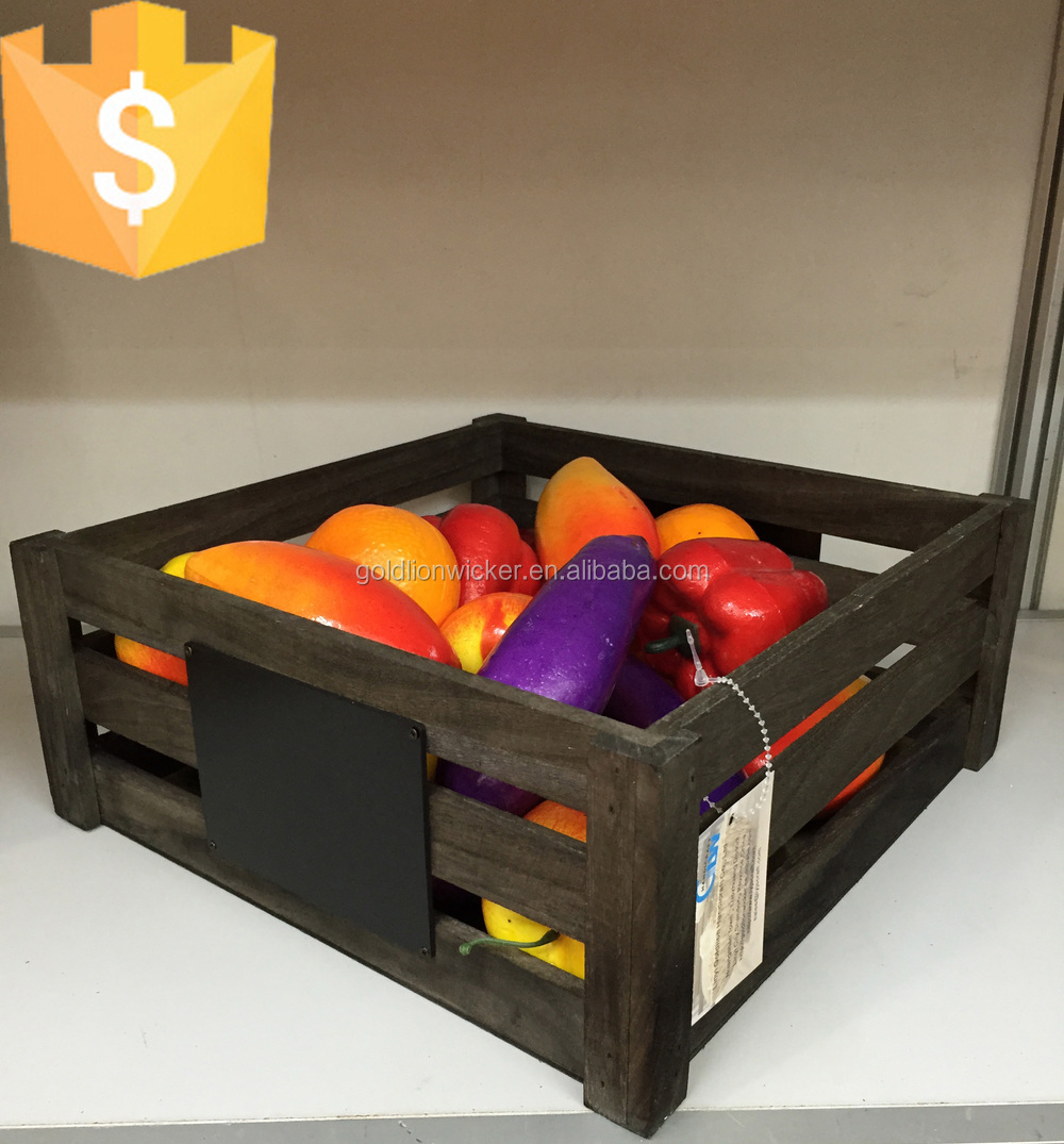 Cheap wooden wine crates cheap wooden crates cheap wooden for Buy wooden fruit crates