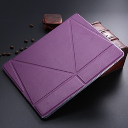 LETSVIEW 2015 New Luxury Smart Stand Magnetic Leather Case Soft Back TPU Flexible Cover For APPLE iPad 4 3 2 Air