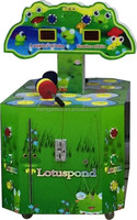 popular amomg kids interesting 2 players hit frog amusement game machine
