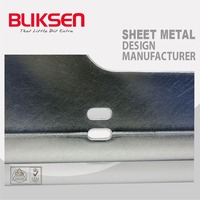 Laser cutting and bending aluminum metal rod fabrication