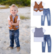 kid's suits cheap newborn baby clothing set