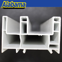 low price/cost anti-uv plastic door frame, upvc casement window frame
