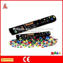 Multicolor Compressed Air Shape Party Cannon Confetti Shooter poppers