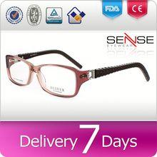 High quality acetate women optical glasses online