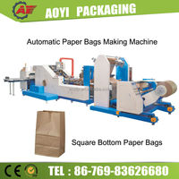 Fully Automatic Automatic Machine to Make Craft Bags
