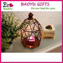 Candle cup iron ornaments
