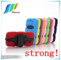 New Deluxe Hybrid Robot Combo Rugged Rubber Matte Hard Case For Samsung S4 i9500 Case