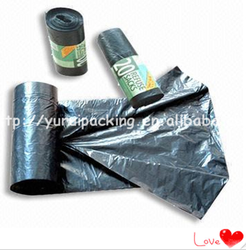 the cheappest china plastic trash bags for packing garbage
