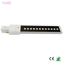 Newest 9w LED Lamp Tube uv Bulbs Gel Nail Art Dryer Replacement 6w uv bulb