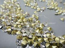 2014Bueno calidad bueno precio Rhinestone de vidrio