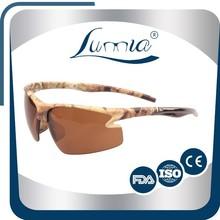 camoflage painting design UV400 standard lens extrem sports sunglass