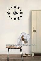 Removable sticker DIY wall clock
