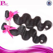 hot selling natural virgin malaysian body wave hair 2pcs