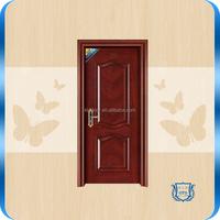 K-9001(Royal red oak color)painting steel wood interior doors