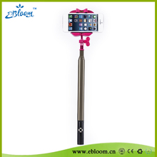 2015 promotional cheap mini self timer handheld stick phone holder,bluetooth wirless self timer