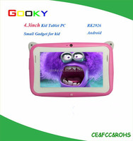 4.3 Inch Android Tablet Child MID RK2926 Single core 1.2Ghz Rubber Kids The Tablet