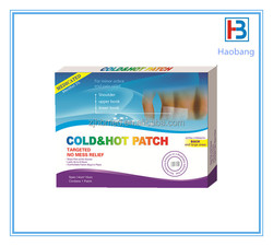 Chinese Cold and Hot Patch, Muscle Pain Relief Patch