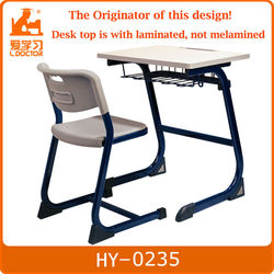 school combo chair desks connected desk and chair