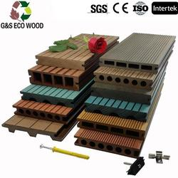 Professional tongue and groove composite decking with high quality